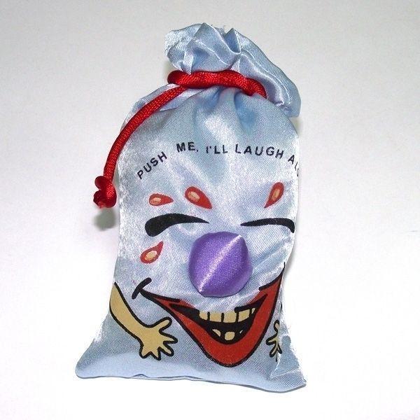 Мешок со смехом голубого цвета