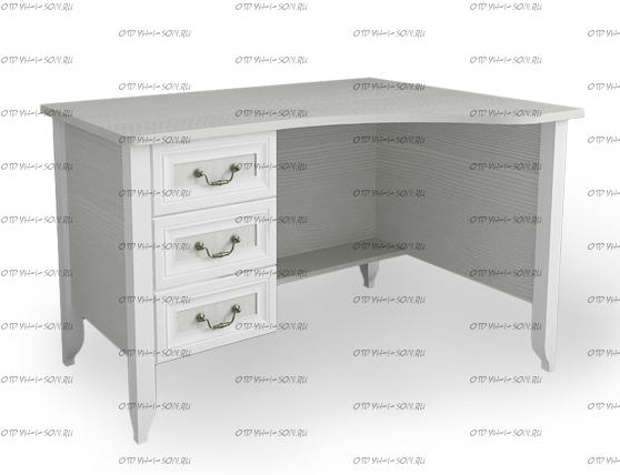 Стол письменный угловой Классика (120х90х75)