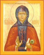 Манефа Гомельская (икона на дереве)