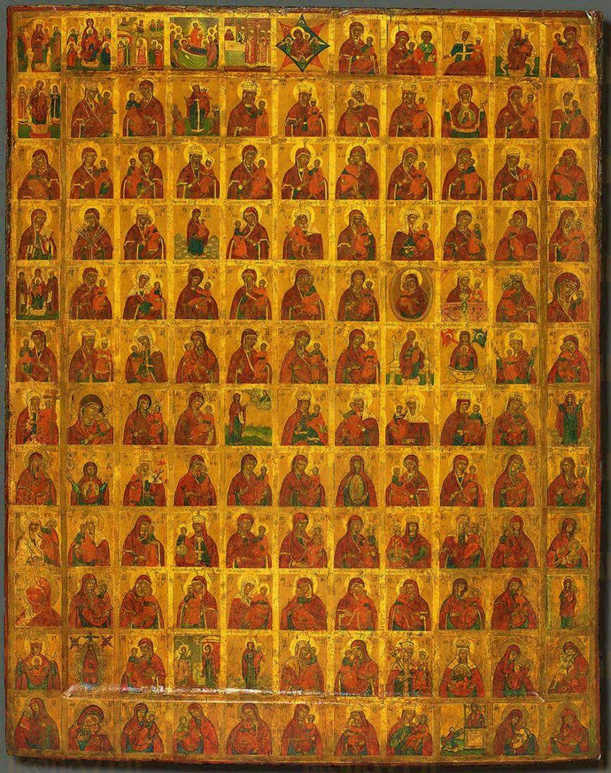 Икона Собор Пресвятой Богородицы (19 век)