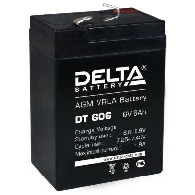 Аккумулятор Delta DT 606