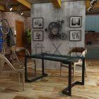 обеденный стол hoteco-a лофт