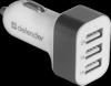 Автомобильный адаптер UCA-03 3 порта USB, 5V / 4A
