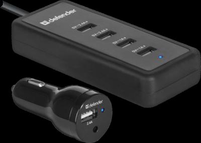 Автомобильный адаптер ACA-02 5 портов USB, 5V / 9.2A