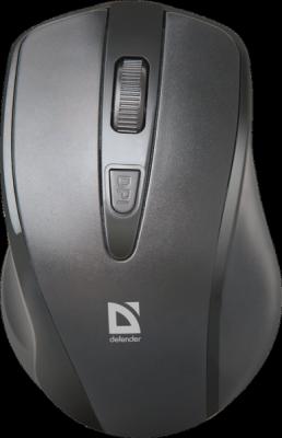 Беспроводная оптическая мышь Datum MM-265 черный,3 кнопки,1600 dpi
