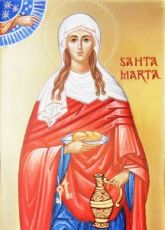 Икона Марфа Вифанская