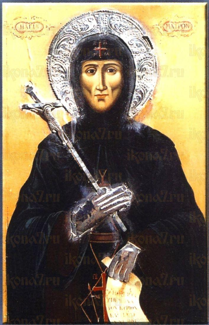 Матрона Хиосская (копия старинной иконы)
