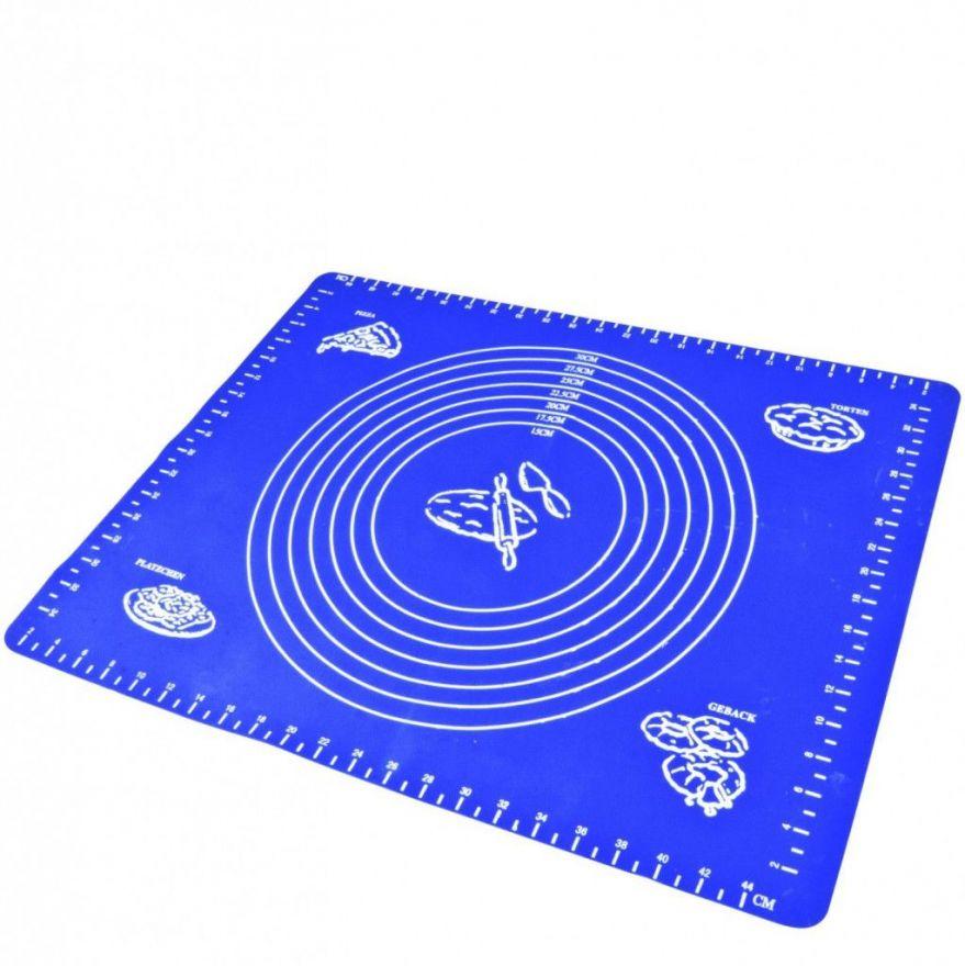 Силиконовый коврик для раскатывания теста