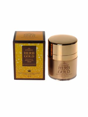 Крем для лица омолаживающий DEOPROCE ESTHEROCE HERB GOLD WHITENING & WRINKLE CARE CREAM 50ml