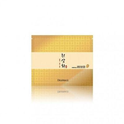 DEOPROCE SHEET Маска для лица гидрогелевая антивозрастная DEOPROCE CHEON SAM HWA ORIENTAL HYDRO GEL MASK 25g