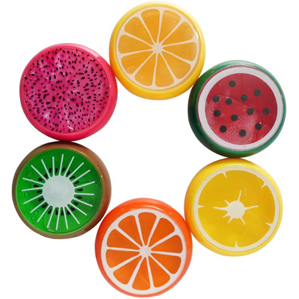 Слайм фрукты в ассортименте