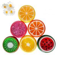 прозрачный слайм фрукты
