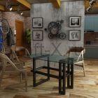 обеденный стол zenlex лофт