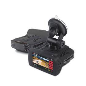 3 в 1 Радар-детектор GPS и видеорегистратор с разрешением Супер HD