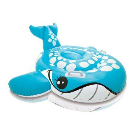Intex MTX-57528 Надувной плотик синий кит (160-152 см)