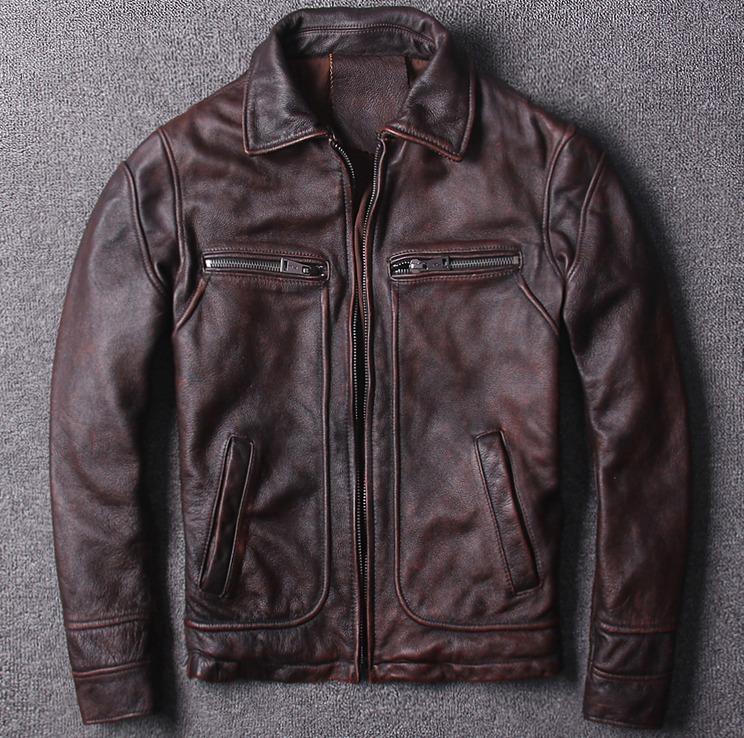Мото куртка классическая ретро DSL 808