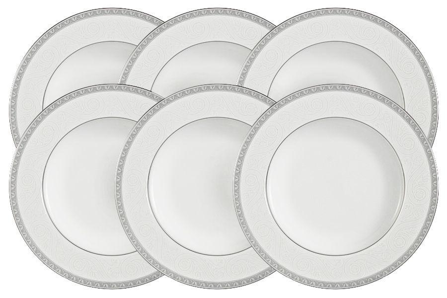 "Набор из 6 суповых тарелок ""Луна"", 23 см"