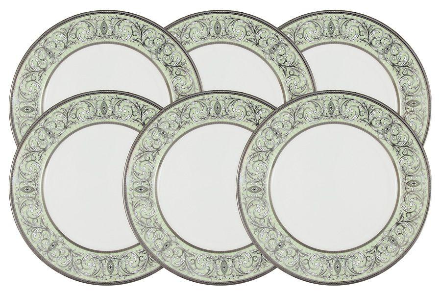 """Набор из 6 тарелок """"Блеск"""", 21 см"""