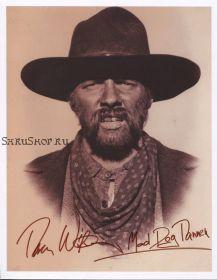 Автограф: Томас Ф. Уилсон. Назад в будущее 3