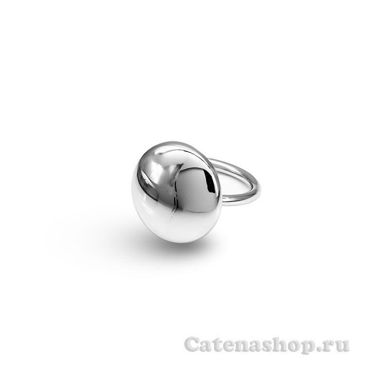 """Кольцо серебряное """" Пуговка"""""""