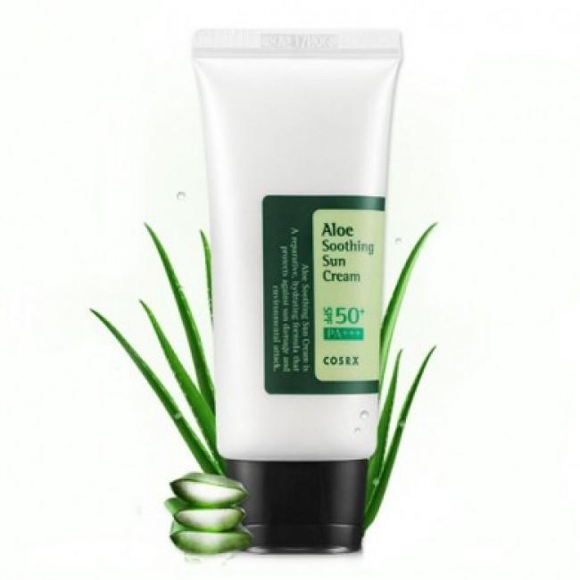 Крем для лица солнцезащитный с алое [COSRX]  Aloe Soothing Sun Cream SPF50 PA+++ 50 мл