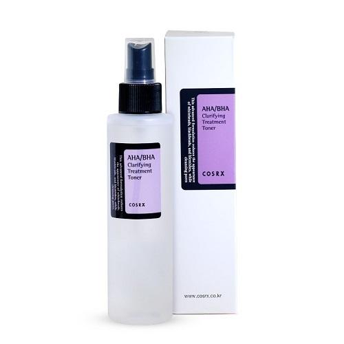 Тоник для лица с кислотами [COSRX] AHA/BHA Clarifying Treatment Toner 100 мл
