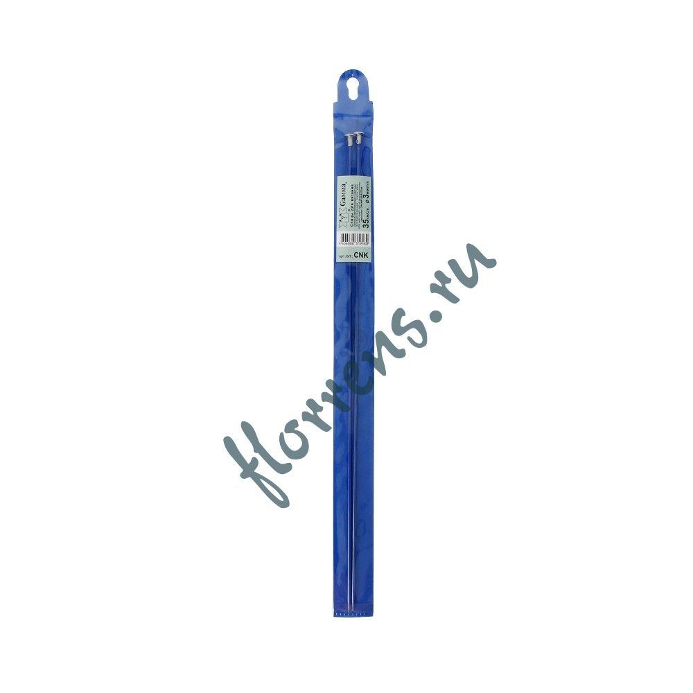 Спицы цветные, 3.0 мм - синие