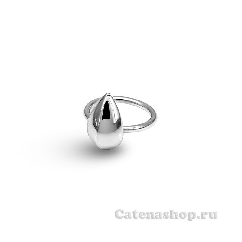 "Кольцо серебряное ""Семечко"""