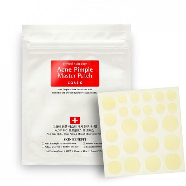 Патчи от акне противовоспалительные [COSRX] Acne Pimple Master Patch 24 шт