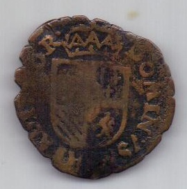 лиард 1556-1598 г. Брабант. Испанские нидерланды