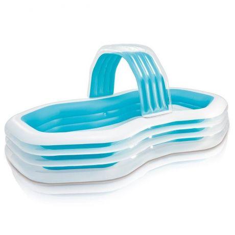 Детский надувной бассейн Intex 57198 «Оазис», 310 х 188 х 130 см