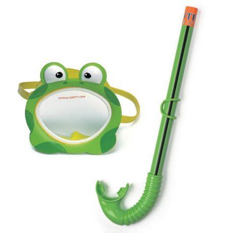 Froggy Fan Intex 55940 - набор (маска + трубка)