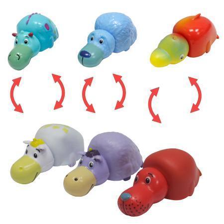 Вывернушки. Пластиковые игрушки в блистере 7 штук.