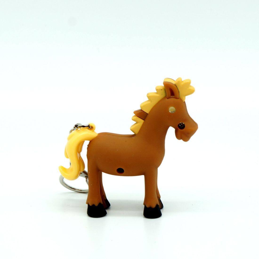 Брелок «Лошадка» со световыми и звуковыми эффектами