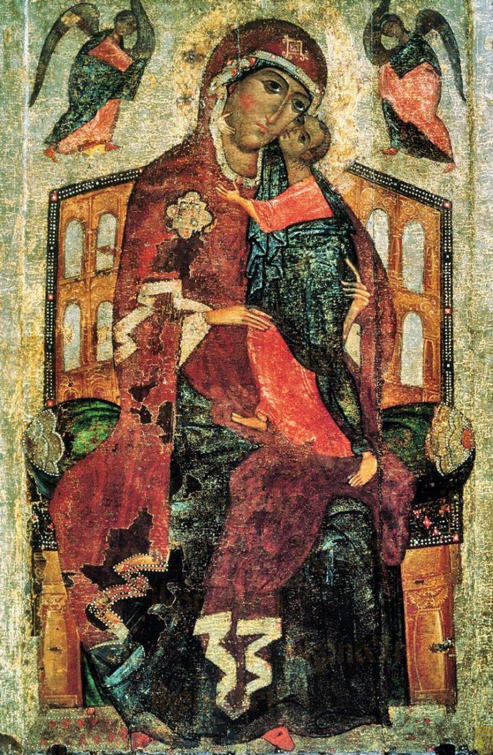 Икона Толгская Божия Матерь (15 век)