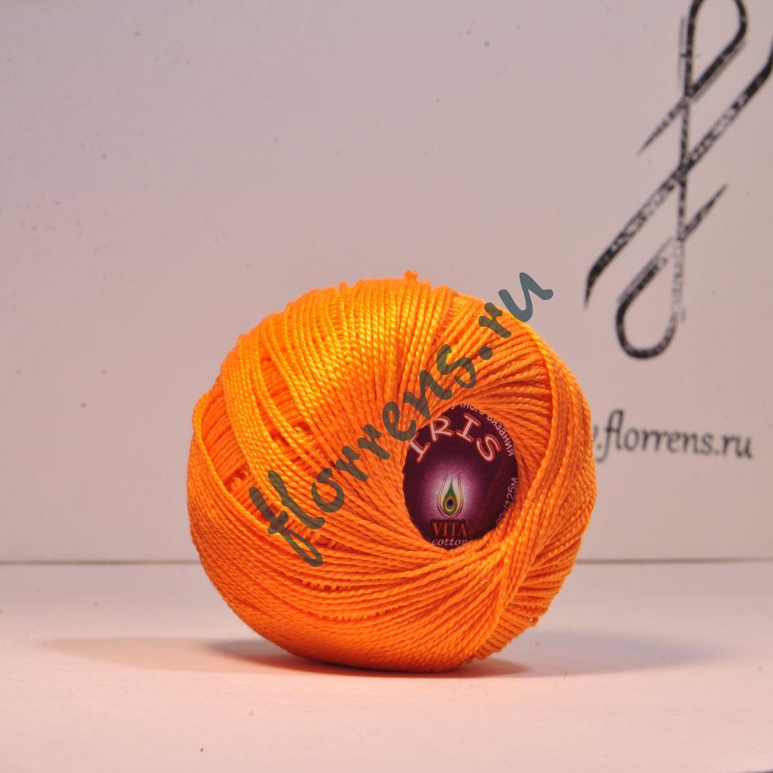 Пряжа Iris / 2134 оранжевый