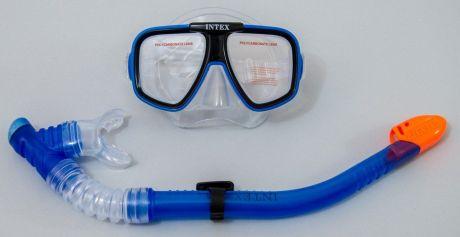 Набор для плавания Reef Rider интекс Intex от 8 лет маска, трубка Intex 55948