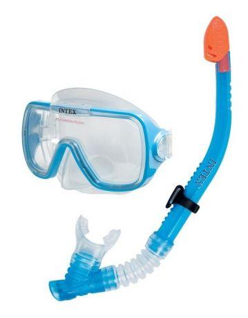 Набор маска с трубкой Intex 55950 Wave Rider