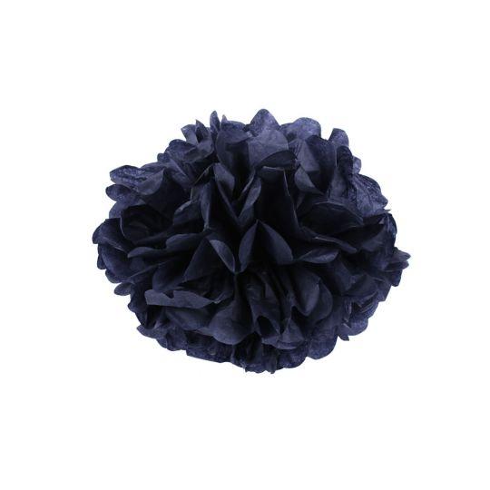 Помпон черный 45-50 см