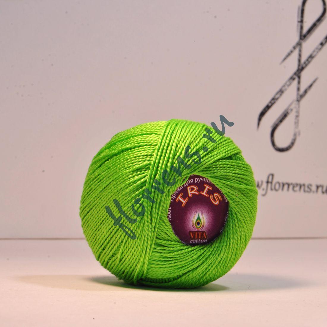 Пряжа Iris / 2107 ярко-зеленый