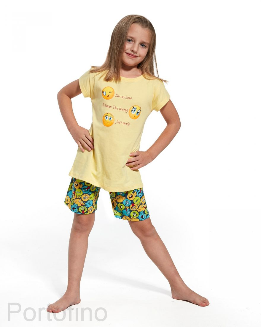 788-58 Пижама для девочек Cornette