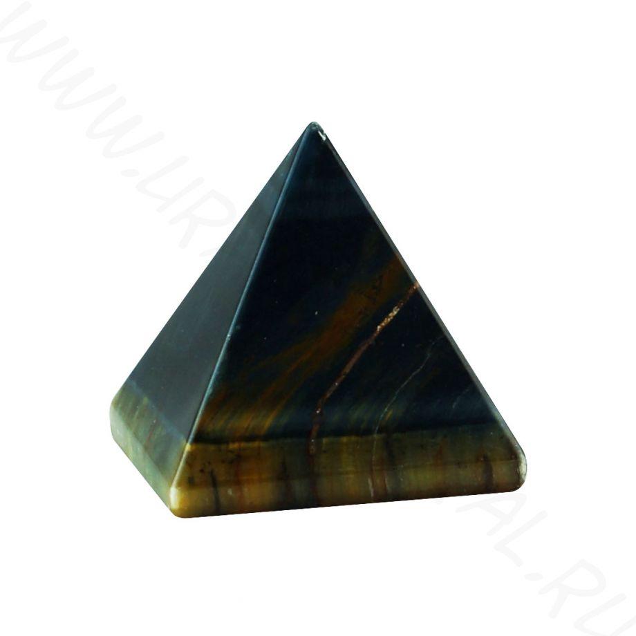 Пирамида - Тигрово-соколиный глаз