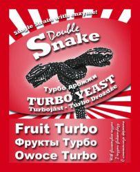 Турбо дрожжи DoubleSnake Fruit Turbo, 50 гр
