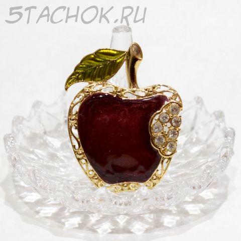 """Брошь """"Спелое яблочко"""" (США)"""