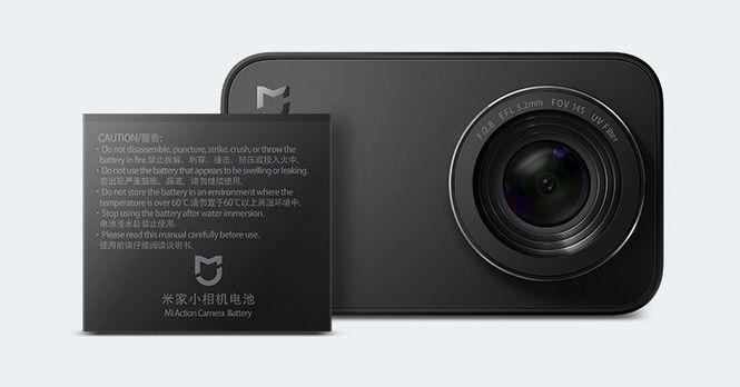 Батарея для камеры MiJia 4K Small Camera 1450 mAh 4K Action Camera Battery