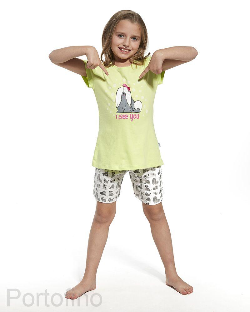 788-57 Пижама для девочек Cornette