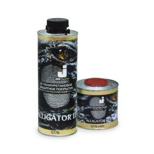 Jeta Alligator II -  2К покрытие на полиуретановой основе для защиты поверхности, 800мл. + 200мл.