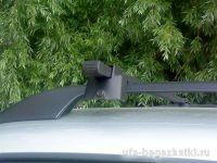 Багажник (поперечины) на рейлинги на Daewoo Matiz, Атлант, стальные дуги