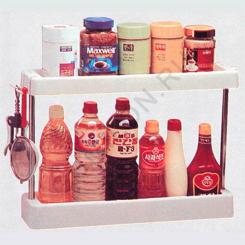 Полочки для ванной комнаты и кухни Regulate finishing frame