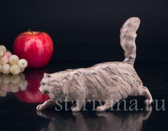 Изображение Крадущийся кот, Royal Doulton, Великобритания, вт. пол. 20 в
